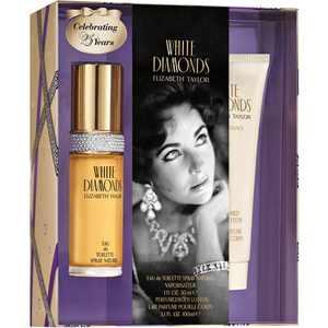 Elizabeth Taylor Perfume Gift Set, White Diamonds , 2 Pieces
