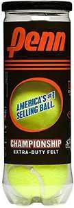 Penn Championship Extra Duty Tennis Balls (1 can, 3 balls)
