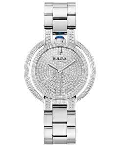 Women's Rubaiyat Diamond (2 1/4 ct. t.w.)  Stainless Steel Bracelet Watch 35mm