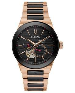 Men's Automatic Grammy Two-Tone Stainless Steel Bracelet Watch 41mm