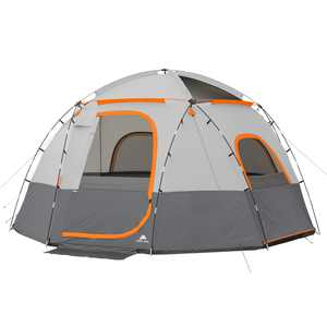 Ozark Trail 15' x 15' 9-Person Lighted Sphere Tent