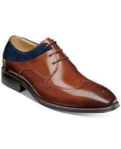 Men's Hewlett Wingtip-Toe Oxfords