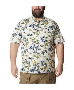 Men's Big & Tall Performance Fishing Gear Trollers Best Short Sleeve Shirt