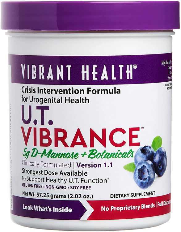Vibrant Health, Mannose & Botanicals, U.T. Vibrance, 2.02 oz (57.25 g)