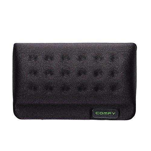 ELECOM Wrist Rest Comfy Short Type/Memory Foam/Ergonomic Design/Reduce Wrist Fatigue/Black MOH-013BK