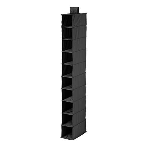 Honey-Can-Do SFT-01247 Drawers For Hanging Organizer,Black