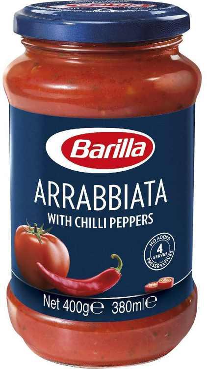 Barilla Tomato Sauce with Chilli (400g)