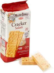 Mulino Bianco Salted Crackers (500g)