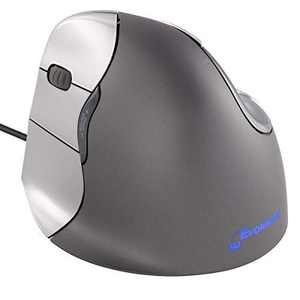 Evoluent VM4L VerticalMouse 4 Left Hand Ergonomic Mouse with Wired USB Connection (Regular Size)