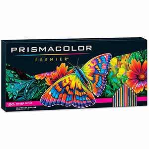 Prismacolor Premier Colored Pencils | Art Supplies for Drawing, Sketching, Adult Coloring | Soft Core Color Pencils, 150 Pack