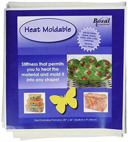 "Bosal Heat Moldable Stabilizer, 20""X36"""