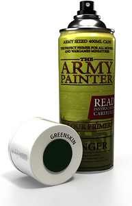 The Army Painter | Colour Primer | Goblin Green | 400 mL | Acryllic Spray Paint