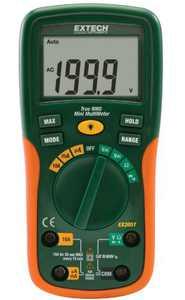 Extech EX205T True RMS Auto Ranging Digital Multimeter