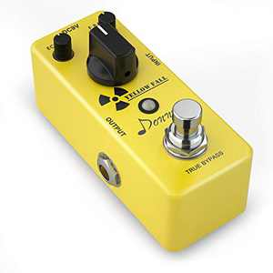 Donner Guitar Delay Pedal, Yellow Fall Analog Delay Guitar Effect Pedal Vintage Delay True Bypass