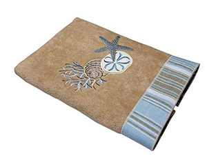 Avanti Linens By The Sea Hand Towel, Rattan