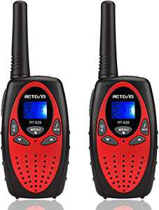 Retevis RT628 Walkie Talkies for Kids,Toys for 5-13 Year Old Boys Girls,Key Lock,Crystal Voice, Easy to Use,Long Range Walky Talky for Camping Hiking(Red,2 Pack)