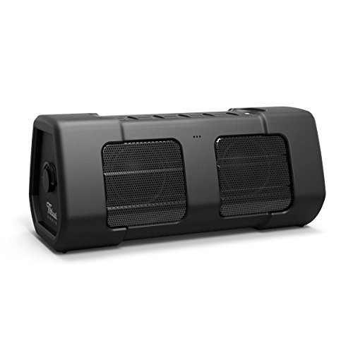 Titus Audio Big PowerBoom 18 12W Waterproof Bluetooth Speaker, Black