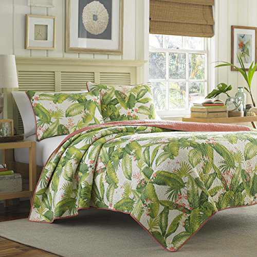 Tommy Bahama, Ecru Aregada Dock Quilt Set, Twin