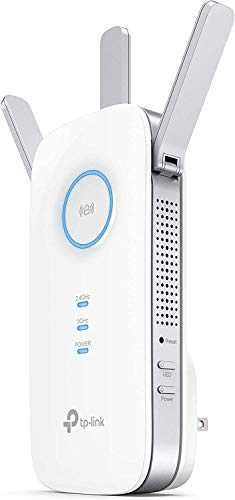 TP-Link AC1750 WiFi Extender (RE450), PCMag Editor's Choice, Up to 1750Mbps, Dual Band WiFi Repeater, Internet Booster, Extend WiFi Range further
