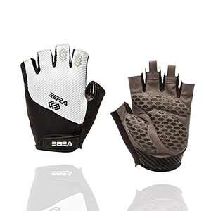 VEBE Men & Women Cycling Gloves Mountain Bike Gloves - Breathable Shock Absorbing Bicycle Gloves with 5MM Pad
