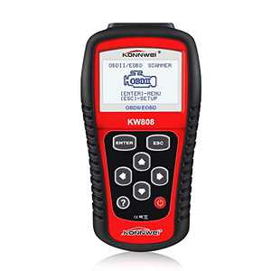 "KONNWEI KW808 Auto OBDII Code Reader 2.8""Large Screen OBD2 Scanner with Full Diagnostic Scan Tool Functions Check Car Engine Light Fault Code Analyzer for All 1996 and Newer Cars with OBD II Protocol"
