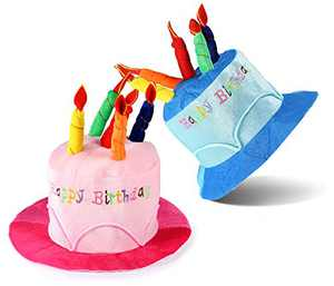 ONEDONE Birthday Hats for Adults Happy Birthday Party Novelty Decorations Prop Gift -(Pack of 2)