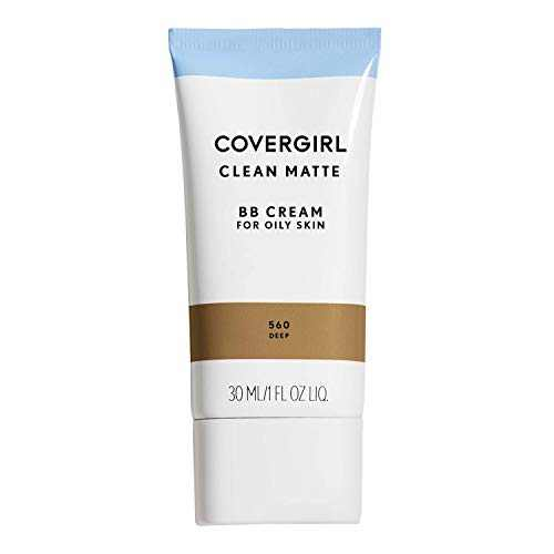 COVERGIRL Clean Matte BB Cream Deep 560 For Oily Skin, (packaging may vary) - 1 Fl Oz (1 Count)