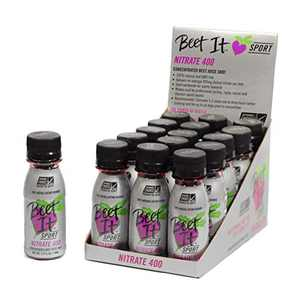 Beet It Sport Pro-Elite Shot, (15 shots) Nitrate 400, Non GMO certified - Each Shot Contains 400 mg Dietary Beet Nitrates - Nitric Oxide Booster - High nitrate beet juice