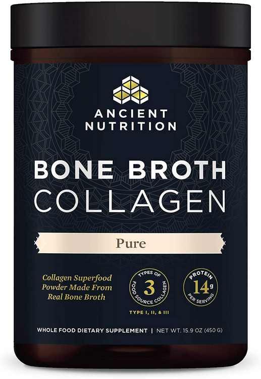 Ancient Nutrition - Bone Broth Collagen Pure - 15.9 oz.