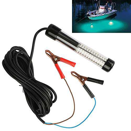 Goture 12V 10.8w 180 LEDs Submersible Fishing Light With 5m/ 5.47yd Cord – Blue
