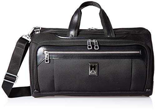 Travelpro Plaitnum Elite-Regional Underseat Duffel Bag, Shadow Black, One Size