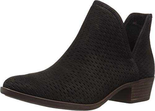 Lucky Brand Women's Baley Fashion Boot, Black, 8.5 Medium US