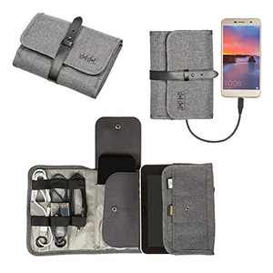 Cable Cord Storage Organizer - Travel Electronic Organizers for Charging Cable, Electronics