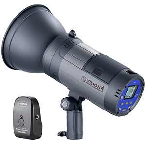 Neewer Vision 4 300W GN60 Outdoor Studio Flash Strobe Li-ion Battery Powered Cordless Monolight with 2.4G Wireless Trigger, 700 Full Power Flashes, Recycle in 0.4-2.5 Sec, Bowens Mount