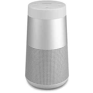 The Bose SoundLink Revolve, the Portable Bluetooth Speaker with 360 Wireless Surround Sound, Lux Gray