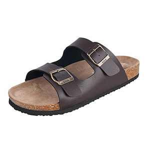 WTW Men's Sandals (12 D(M) US, Brown)