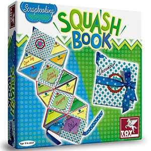 Toykraft: Squashbook - Scrap Book Making - Art & Craft Activity for 5 Years Old to Adult
