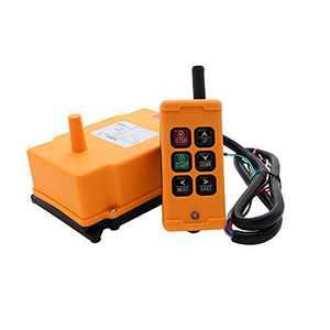 creatorele 6 Key Crane Industrial Remote Control Wireless Transmitter Push Button Switch (AC110V)