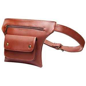 Badiya Fanny Pack Steampunk Hip Bag Traveling Fashion Waist Packs for Women Men with Adjustable Belt