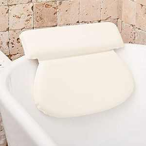 Bathtub Pillow For Neck And Shoulder: Bath Pillows For Tub Neck And Back Support - Bubble Bath Accessories Bath Tub Pillow For At-Home Spa. Self Care Gifts for Women, Relaxation Gifts For Mom