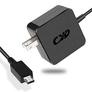 CYD 24W 12V 2A Powerfast Replacement for Laptop-Charger Asus-Chromebook-C201 C201P C201PA Chromebook-Flip C100 C100P C100PA-DB02 ADP-24EW B Power-Cord Extra 8.2 ft AC-Adapter Cable