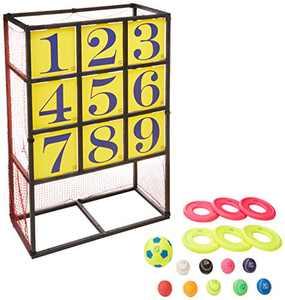 Macro Giant Portable Patent Pitching Target, Strike Zone, Baseball, Flying Disc, Soccer,Golf,Practice Net,Training Aid,Soccer Goal,Backstop,Yard Game