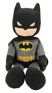 "Animal Adventure | DC Comics Justice League | Batman | 21"" Collectible Plush, Grey/Black/Gold"