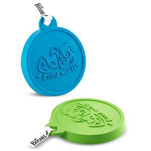 BOSHEL Cat Food Lid – 2 Pack - Silicone Dog Food Can Lids - Dog Food Cover and Cat Food Cover - Dog Food Lid Fits 3 Pet Food Can Sizes – Pet Food Can Covers, Use for Dog Food Top and Cat Food Lids