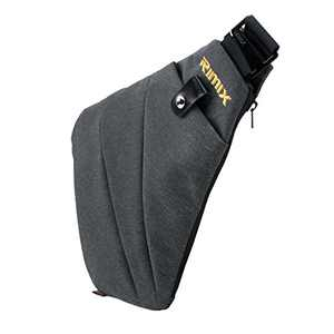 Asgens Multi-purpose Anti-thief Hidden Security Bag Underarm Shoulder Armpit Messenger bag Sports Leisure Chest Bag Portable Backpack for Phone Money Passport Tactical Bag (Grey/For Left handed)