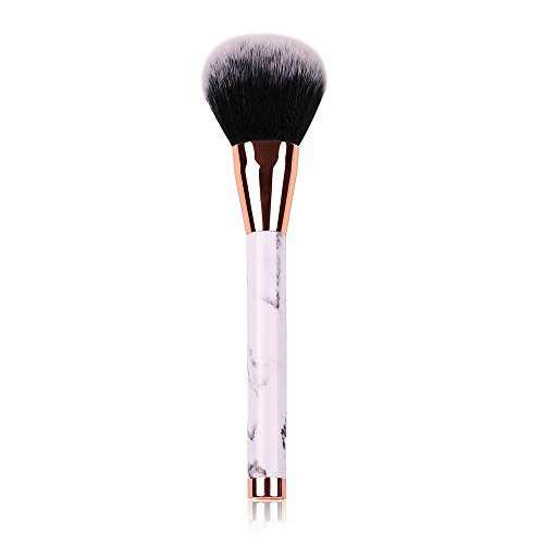 Foundation Brush, Powder Brush with Marble Pattern, Soft Blush Brush, Prime Face Brush,Perfect for Blending Liquid, Cream and Flawless Powder Cosmetics Makeup Brushes Tool