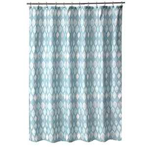 Shell Rummel Sea Glass, Shower Curtain, Teal
