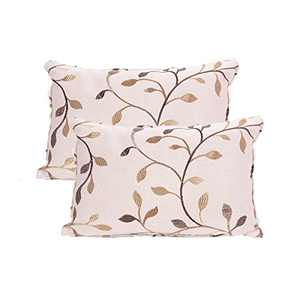 JarlHome Pillowcases Cushion Covers Polycotton, Set of 2 (1218)