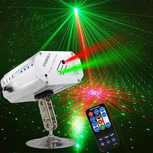 Party Lights,DJ Disco Stage Lights Sbolight Led Projector Karaoke Strobe Perform for Stage Lighting with Remote Control for Dancing Thanksgiving KTV Bar Birthday Outdoor