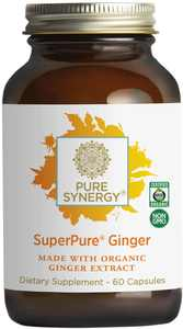 Pure Synergy SuperPure Ginger - Organic Extract 60 caps
